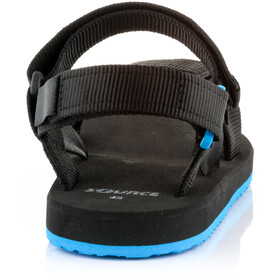 SOURCE Urban Sandalias Hombre, black